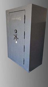 fort-knox-grey-dark-granite-defender-best-security-for-the-money-big-safe-vault-fits-the-most-guns-in-one-safe